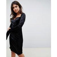 Vero ModaVero Moda Velvet Party Dress - Black