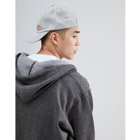 Dickies Willow City Baseball Cap With Small Logo In Grey - Grey