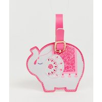 Sass & Belle Mandala Elephant Luggage Tag