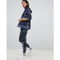 Dkny Camo Print Logo Skinny Fit Tracksuit Pant