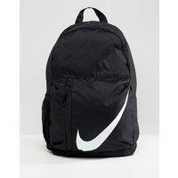 Mochila con logo grande de la marca en negro de Nike