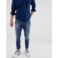 G-star D-staq 3d Zip Slim Fit Mid Wash Jeans