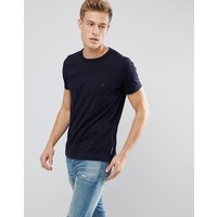 French Connection Basic Crew T-Shirt - Marine