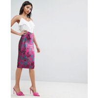 ASOS Jacquard Pencil Skirt - Multi