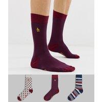 Original Penguin 3pack gift socks - Stripe geo