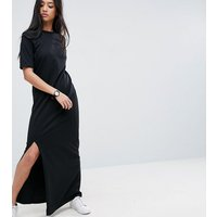 ASOS PetiteASOS PETITE Basic T-shirt Casual Maxi Dress - Black