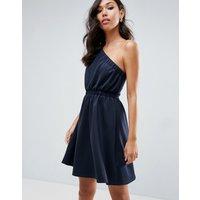 ASOSASOS Asymmetric Mini Prom Dress - Navy