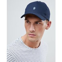 French Connection Crown Baseball Cap In Navy - Blue