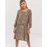 mByM leopard print mini dress - Cleo print