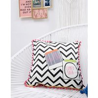 House of Disaster reserved cushion - Black