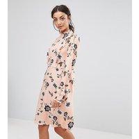 Vero Moda TallVero Moda Tall Floral Printed Dress - Rose cloud