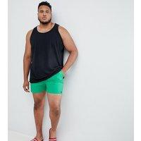 French Connection Plus Swim Shorts - Green / Mazarine