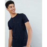French Connection Henley T-shirt - Marine