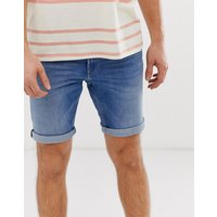 Tom Tailor stone wash denim short - Blue
