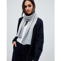 Brave Soul grey molly scarf - Grey (solid)