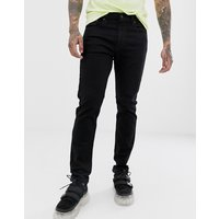 Vaqueros slim tapered en negro Stylo Advanced Lo-ball 512 de Levi's