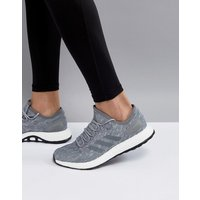Adidas Running Pureboost In Grey Bb6278 - Grey