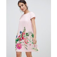 Ted Baker Gemma Florence Print Swing Dress - Pink