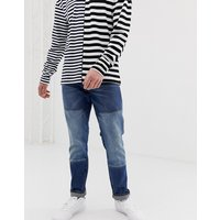 G-star Faeroes Straight Tapered Fit Mid Wash Jeans