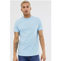 ASOS DESIGN organic t-shirt with crew neck in blue - Sky blue