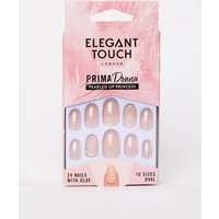 Elegant Touch Prima Donna Collection Pearled Up Princess False Nails - Pearled Up Princess