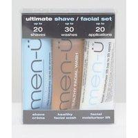 men-u Ultimate Shave / Facial Set 3x15ml - Ultimate set
