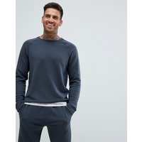 Calvin Klein Modern Cotton Long Sleeve Top - Grey