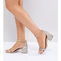 Sandalias de tacón de corte ancho HONEYDEW de ASOS