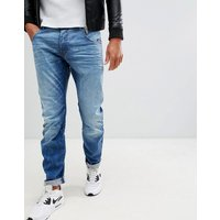 G-star Arc 3d Slim Fit Jeans In Light Aged
