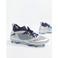 Puma Football Future 2.3 Netfit Firm Ground Boots In Silver - Silver