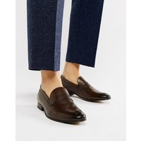Base London Tenor Penny Loafers In Brown - Brown
