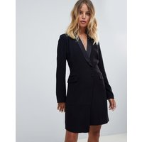 BA&SH Ness Tuxedo Dress - Black
