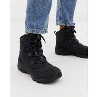 Merrell Snowbound Mid Waterproof hiking boots in black - Black