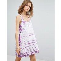 ASOSASOS Swing Sundress in Tie Dye - Purple