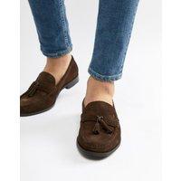 Ben Sherman Loafers Tassel Loafers In Brown Suede - Brown