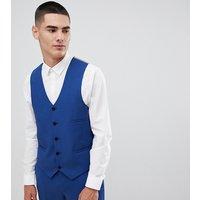 Noak super skinny waistcoat in blue - Blue