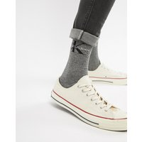 Calvin Klein Jeans Socks With Bold Logo - Grey