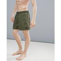 Reebok Swim Swim Shorts In Khaki Ce0616 - Green