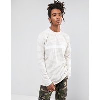Cayler & Sons Long Sleeve T-Shirt In Stone Camo - Stone
