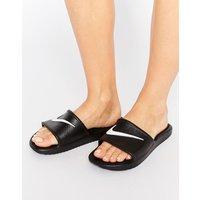 Sandalias negras con logo Kawa de Nike