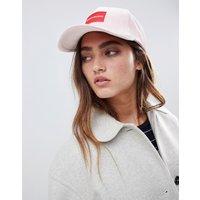 Calvin Klein Jeans Logo Velvet Cap - Rose