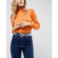 ASOS Clear Western Belt with Stud Detail - Clear