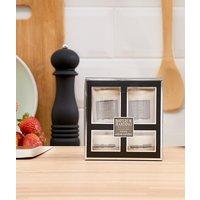 Baylis & Harding black pepper & ginseng 4 votive candle set - White