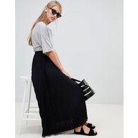 French Connection Pleated Maxi Skirt - Black