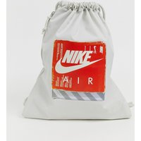 Nike air grey 90s drawstring bag - Light bone/light bon