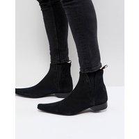Jeffery West Pino suede chelsea boots - Black