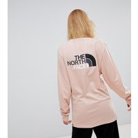 The North Face - The North Face - North Faces - T-shirt manches longues exclusivité ASOS - Rose - Rose