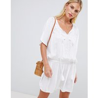 Accessorize Mono Beach Kaftan White - White