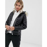 Dare 2b Ski Jacket with Fur Hood - Black