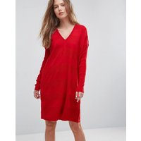 ASOSASOS Oversized Knitted Dress - Red
